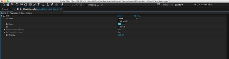 Các phím tắt After Effects Ae