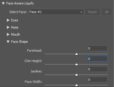 Cách bóp mặt trong photoshop với công cụ Face Tool