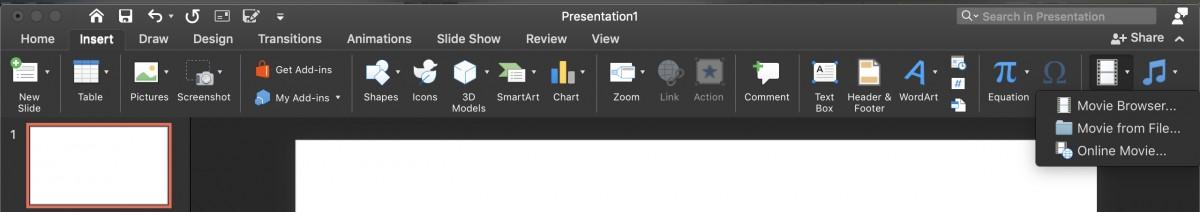 Cách chèn file ảnh động GIF và video vào PowerPoint 00