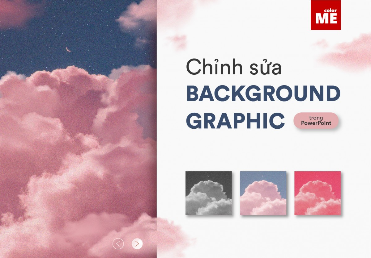 Cách chỉnh sửa background Graphic trong PowerPoint