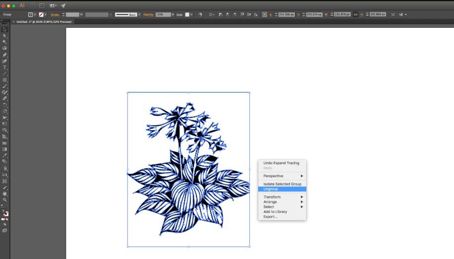 Cách chuyển ảnh sang thành vector trong AI Adobe Illustrator