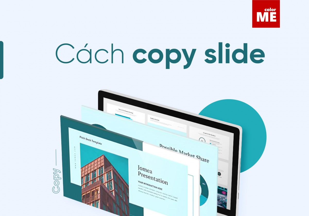 Cách copy Slide trong PowerPoint