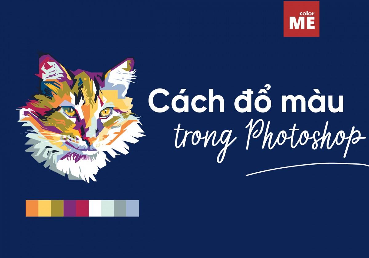 Cách đổ màu vùng chọn trong photoshop