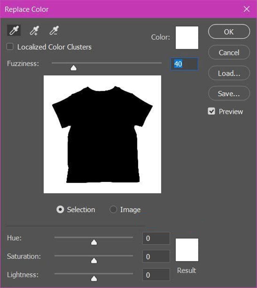 Cách đổi màu áo trong photoshop