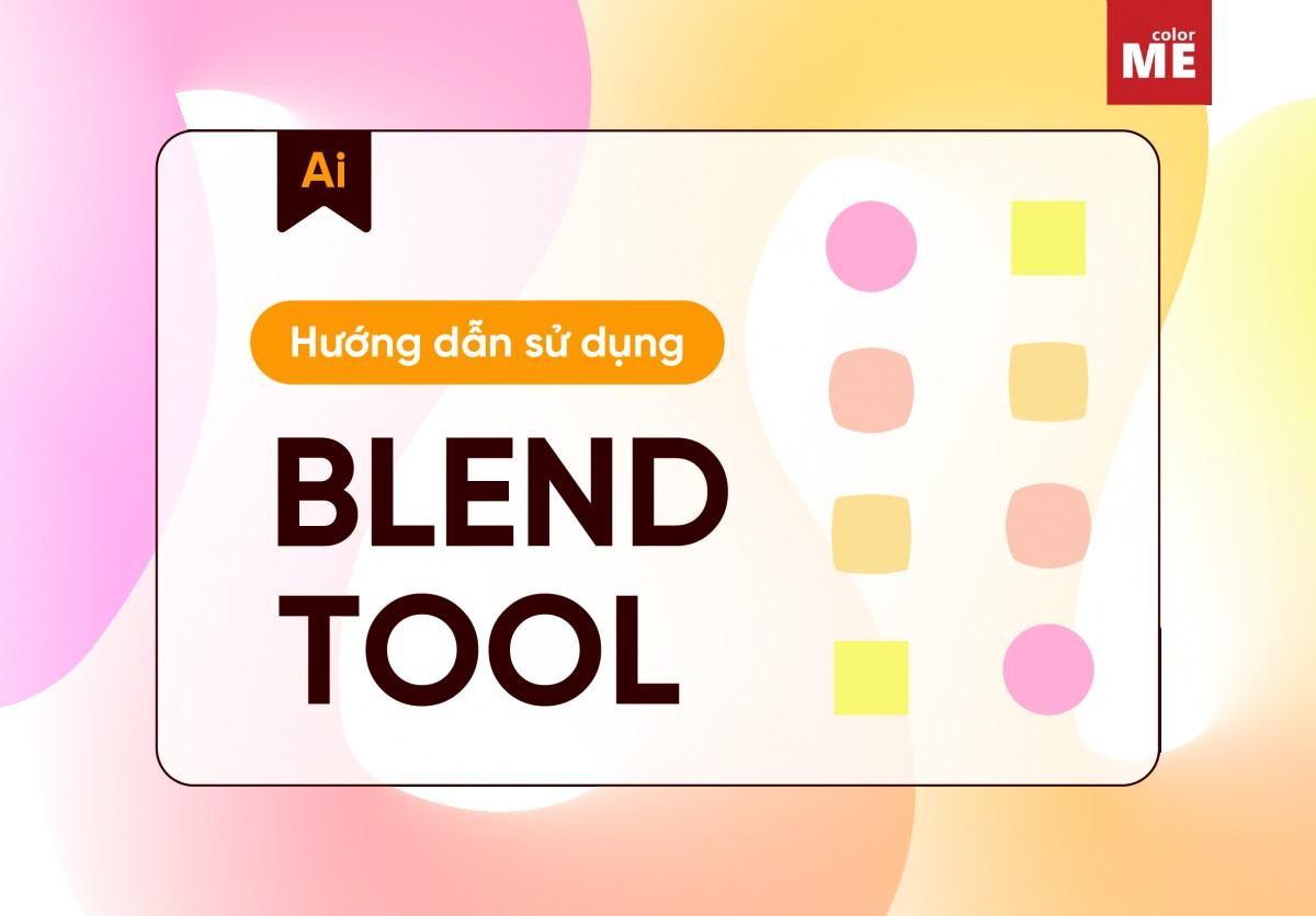 Cách dùng Blend Tool trong Adobe Illustrator hiệu quả