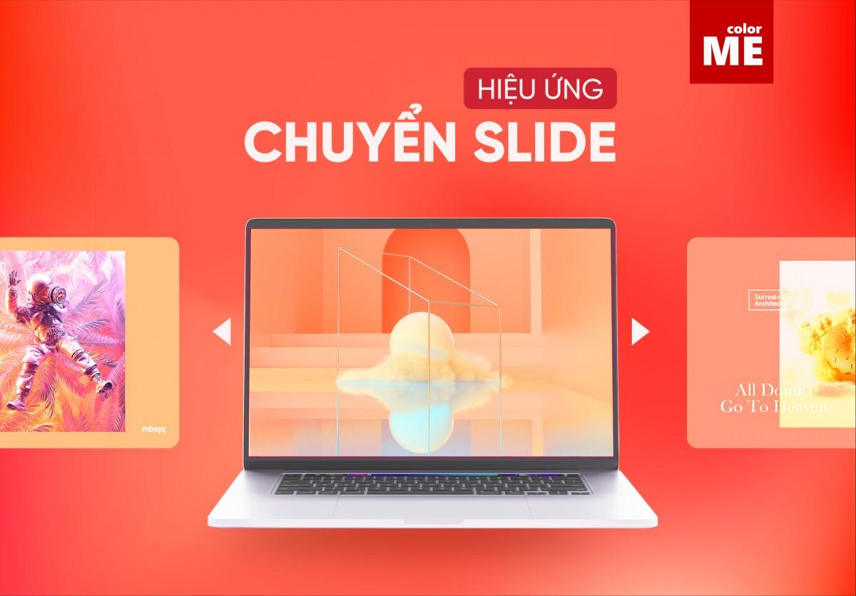 Cách dùng hiệu ứng chuyển Slide trong PowerPoint
