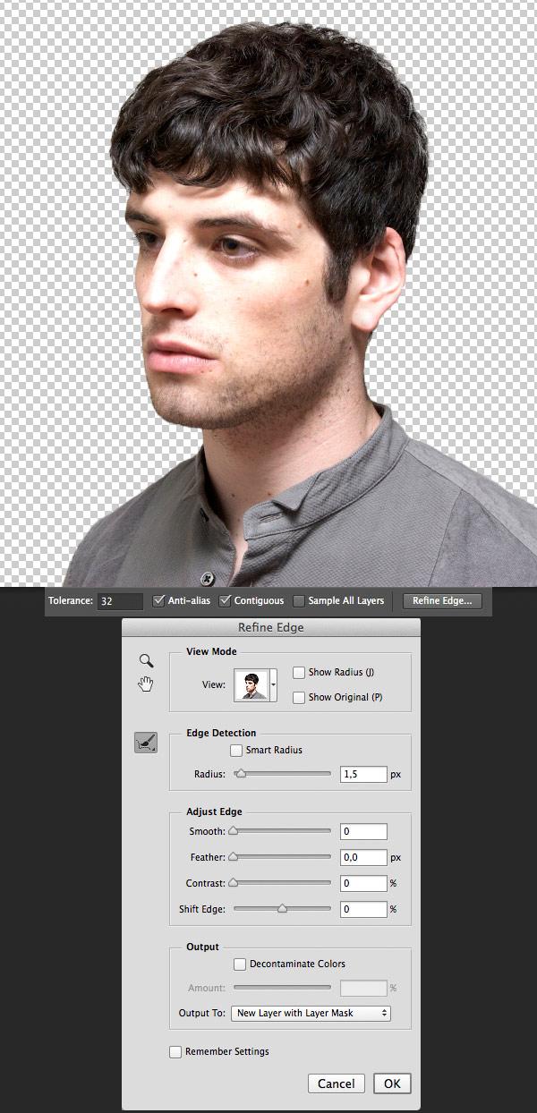 Cách ghép ảnh chồng lên nhau bằng photoshop