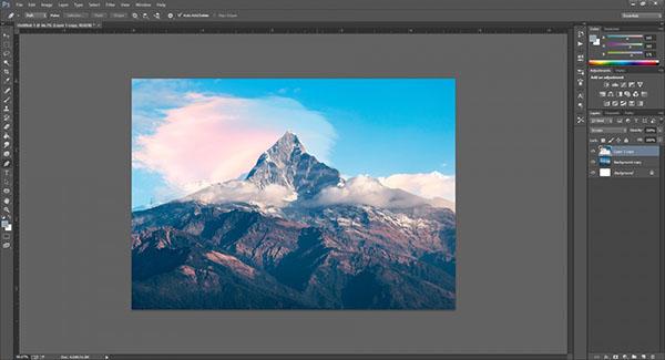 ghép ảnh trong photoshop CS6