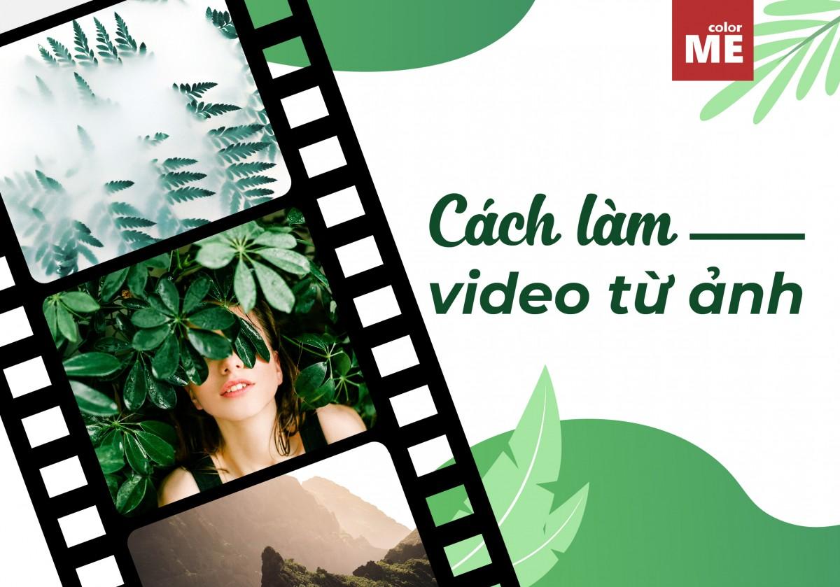 Cách tạo Video từ ảnh online trực tuyến không cần phần mềm