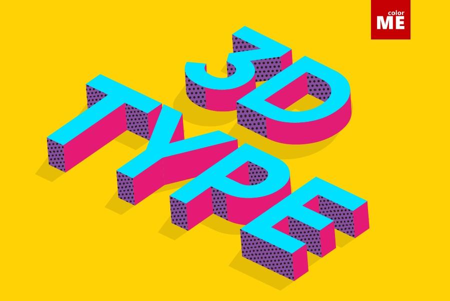 Cách tạo chữ 3D trong Photoshop
