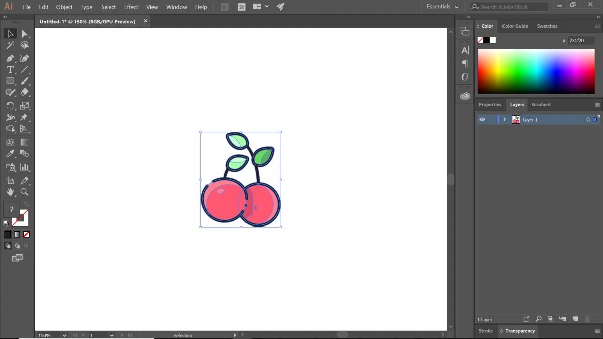 hướng dẫn tạo pattern bằng illustrator 1