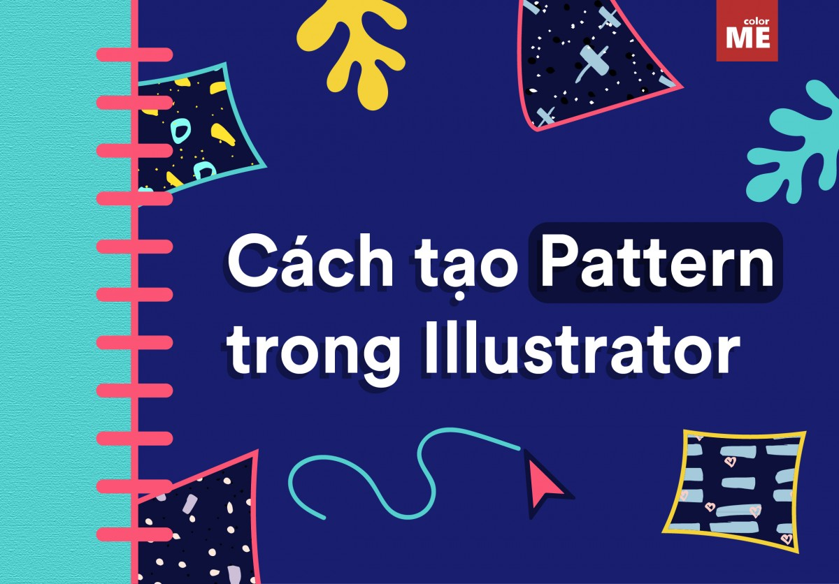 Cách tạo pattern trong AI Adobe Illustrator