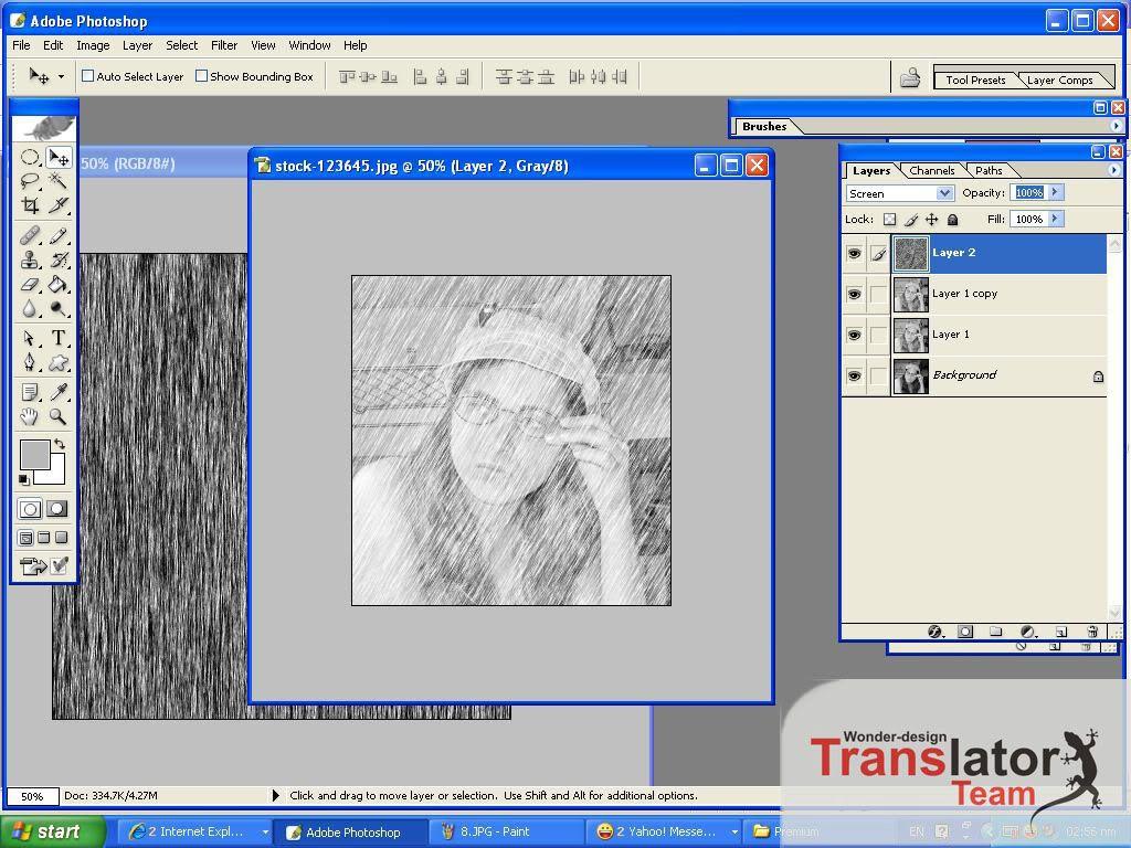 Chuyển ảnh thành tranh vẽ chì bằng photoshop cs6