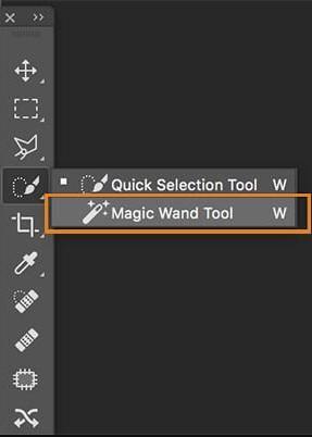 Cắt hình trong Photoshop với công cụ Magic Wand Tool