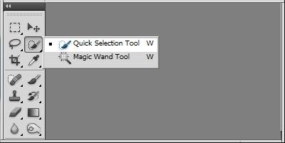 Cắt hình trong Photoshop với công cụ Quick Selection Tool