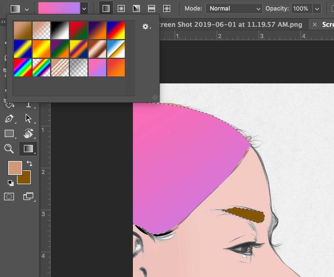 Hướng dẫn tô màu vùng chọn, layer trong photoshop
