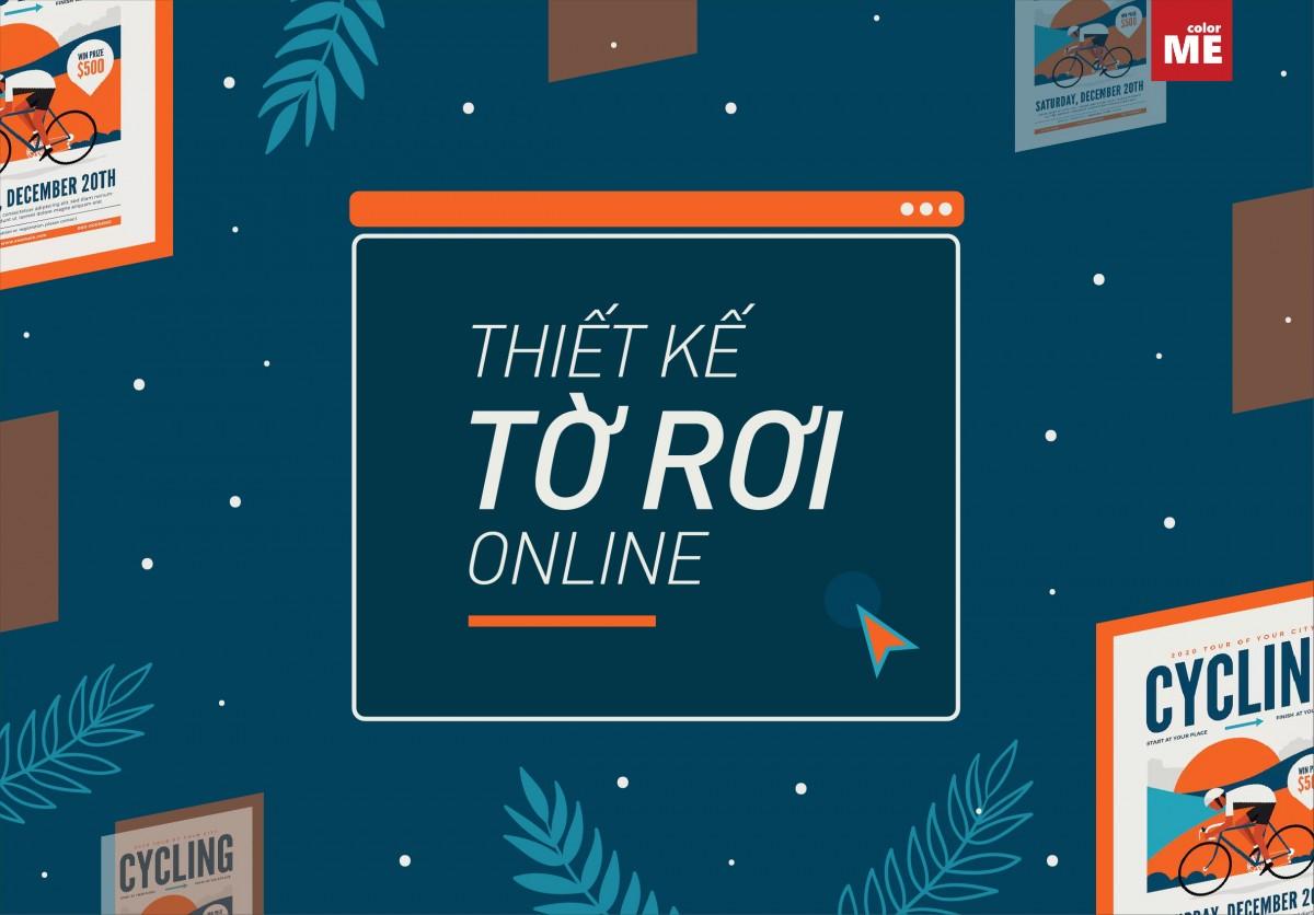 Hướng dẫn thiết kế kế tờ rơi online