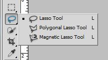 Lasso Tool trong photoshop