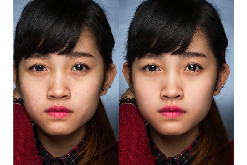Những sai lầm khi chỉnh sửa da trong photoshop 00