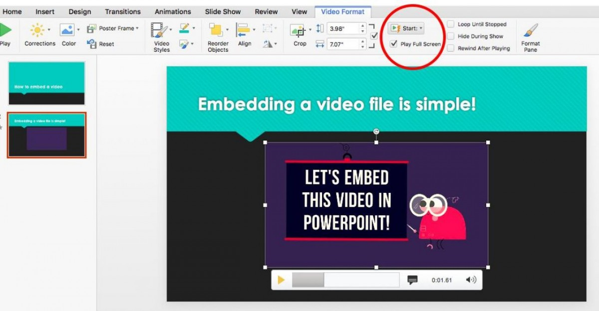 Tạo video bằng PowerPoint từ A đến Z