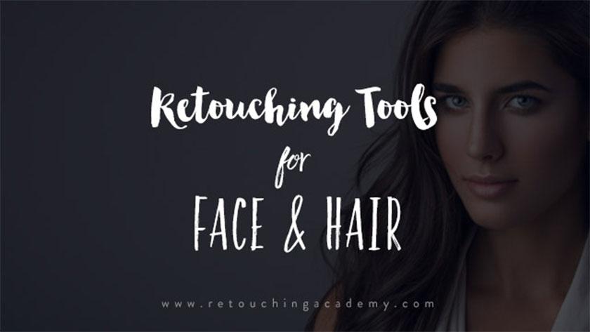 Các công cụ có thể dùng để vẽ tóc, chỉnh mặt, da trong photoshop