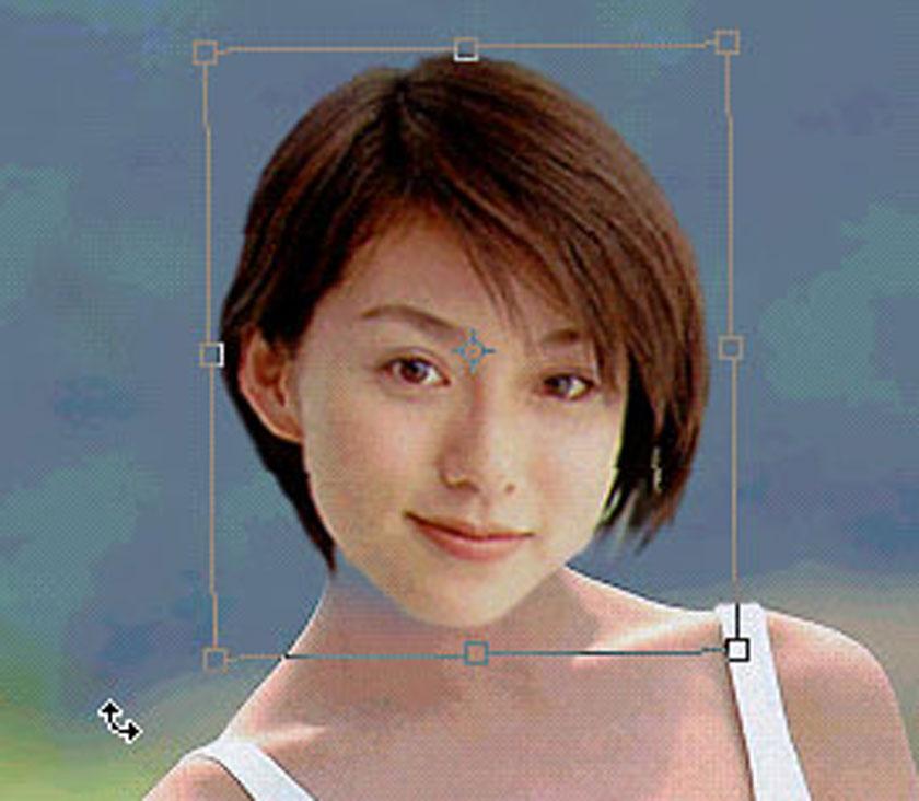 ghép đầu người này vào thân người kia trong photoshop