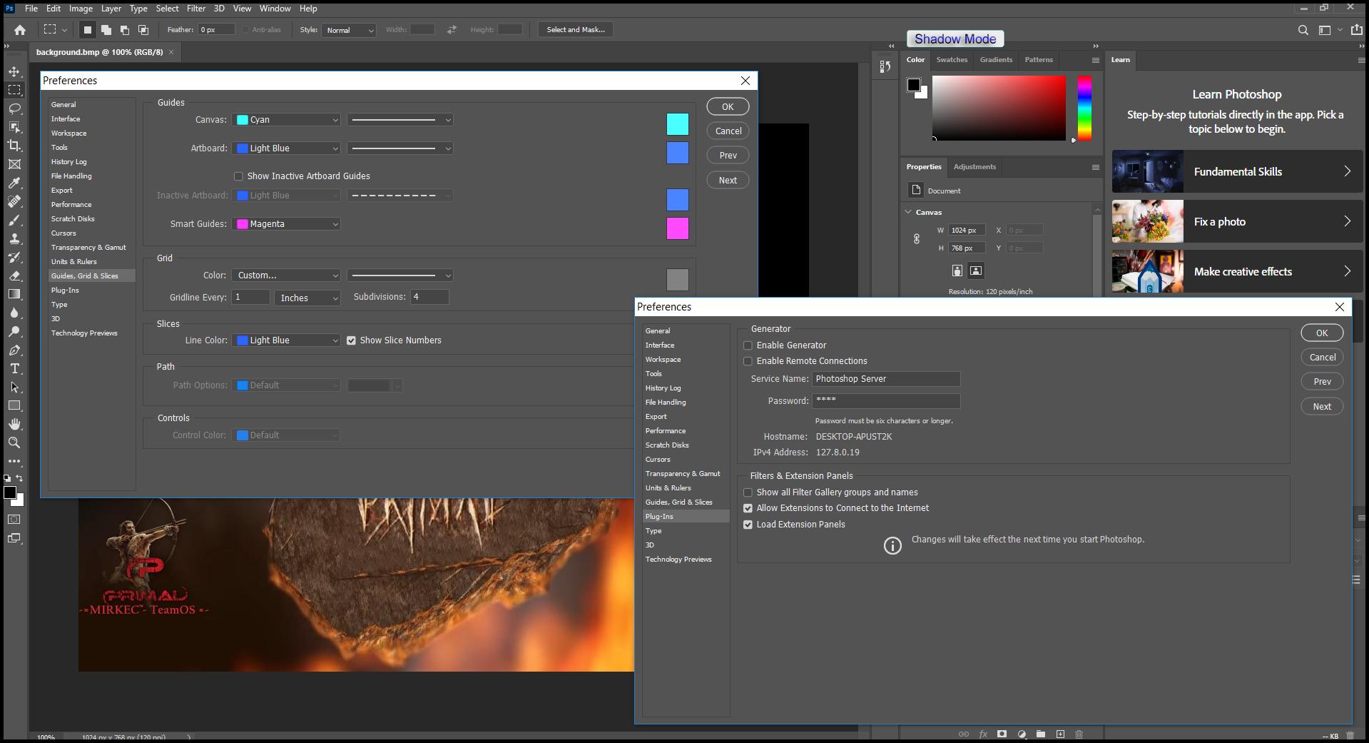 tải phần mềm pts portable Photoshop 2021 full
