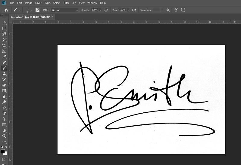 Chữ ký minh họa
