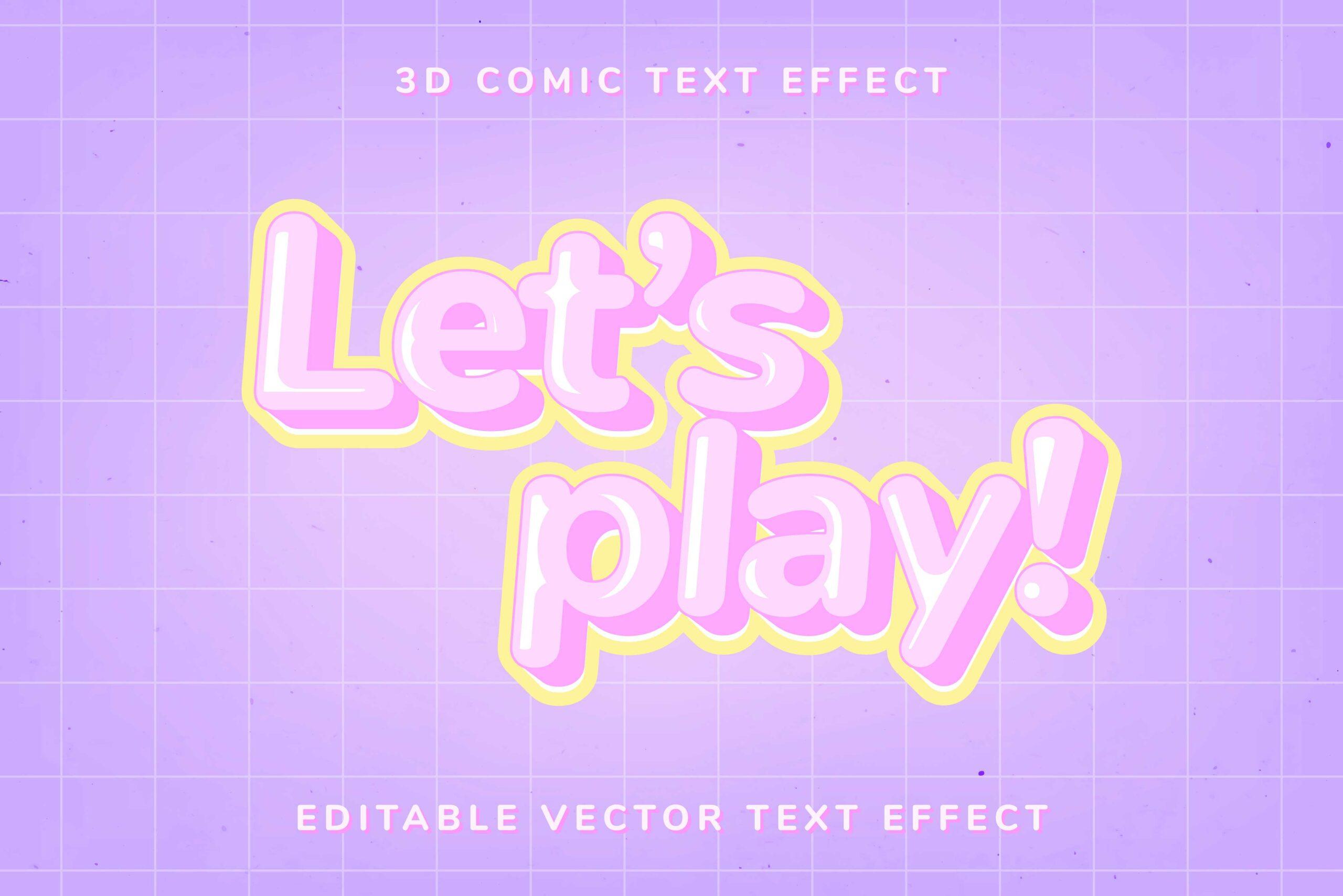Tải text effect illustrator, hiệu ứng chữ trong AI